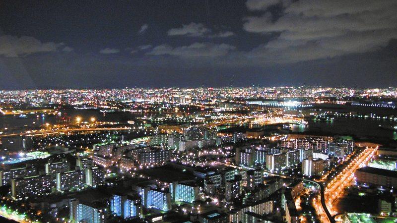 さきしまコスモタワー夜景