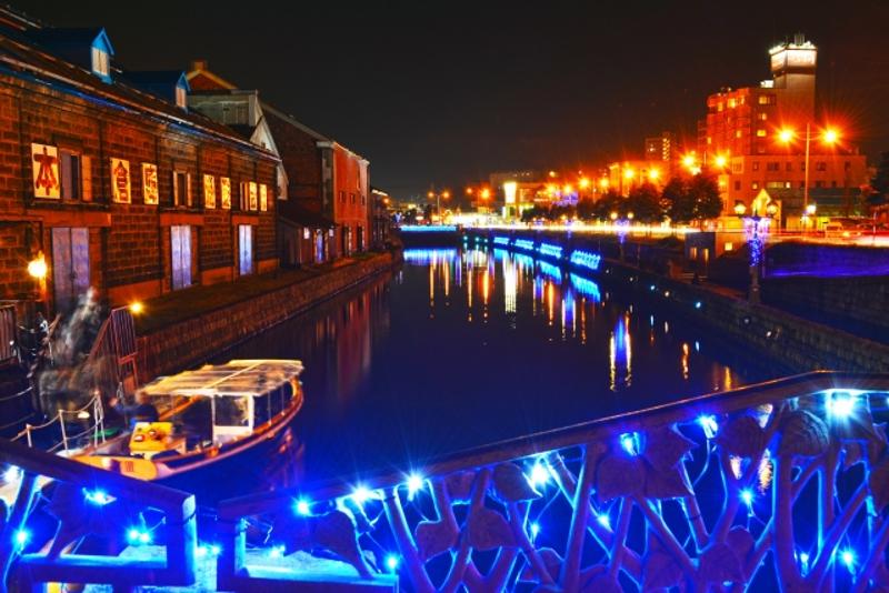 小樽青の運河