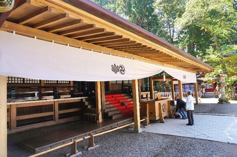 鹿島神宮_社殿(拝殿)