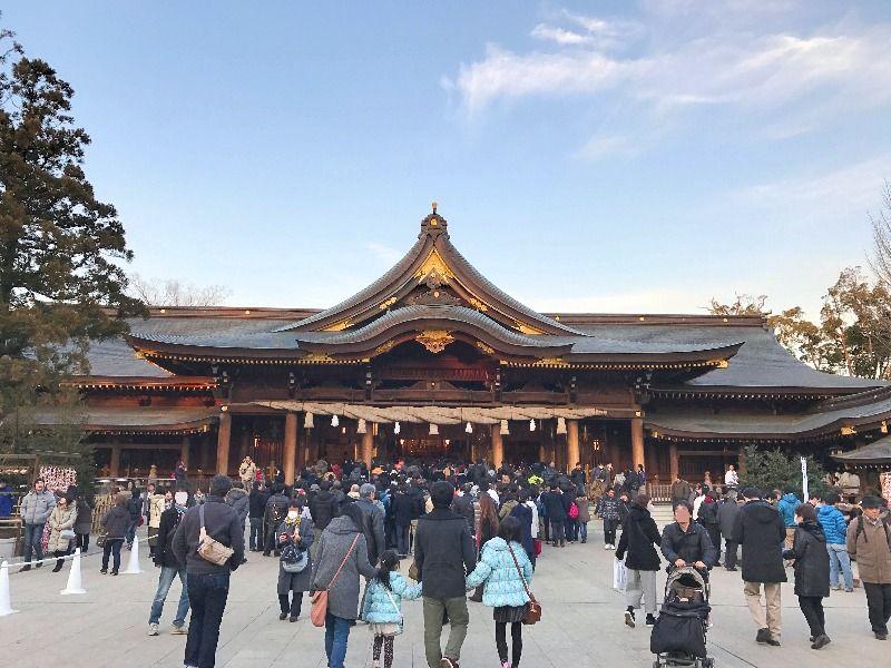 寒川神社_社殿