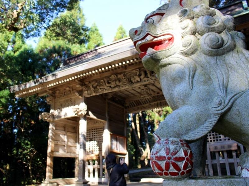倭文神社画像