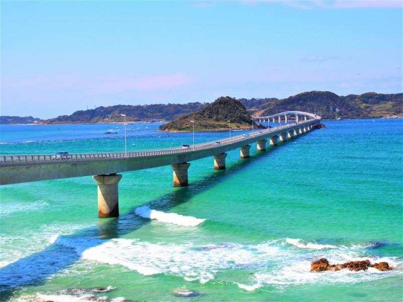 角島大橋画像