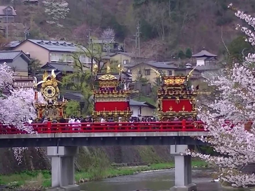 飛騨高山 中橋周辺(岐阜) | 2019年夜桜ライトアップ・見頃情報
