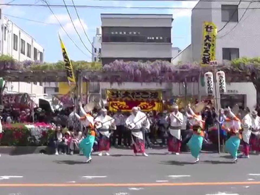 春日部駅西口 ふじ通り(埼玉) | 2019年藤まつり・見頃情報