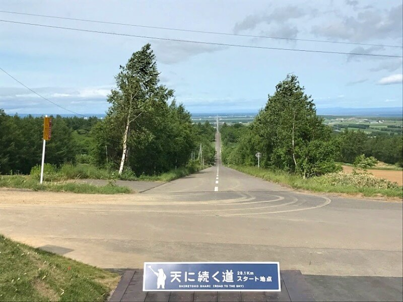 天に続く道_001(斜里町観光協会提供)