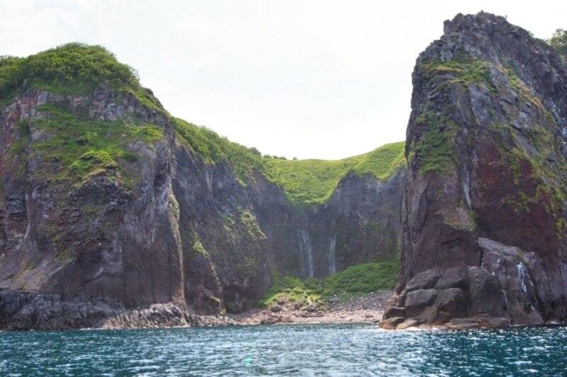 フレペの滝_海側