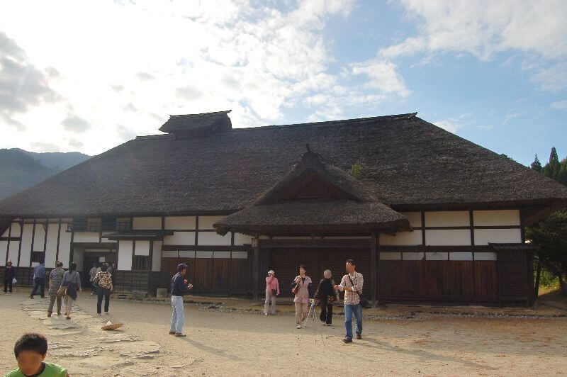 大内宿_町並み展示館(本陣跡)