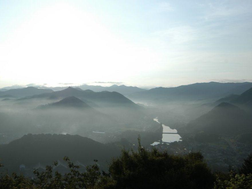 藤山からの眺望(夏)