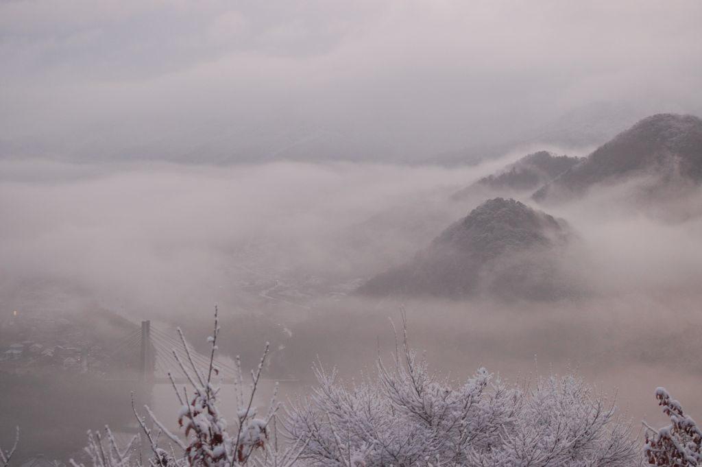 藤山からの眺望(冬)