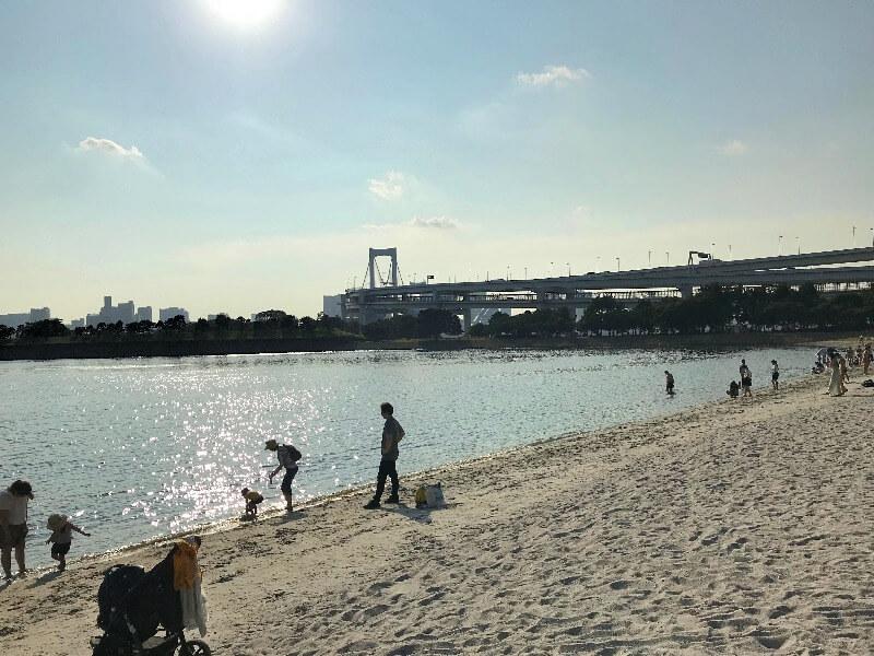 お台場海浜公園_ビーチ