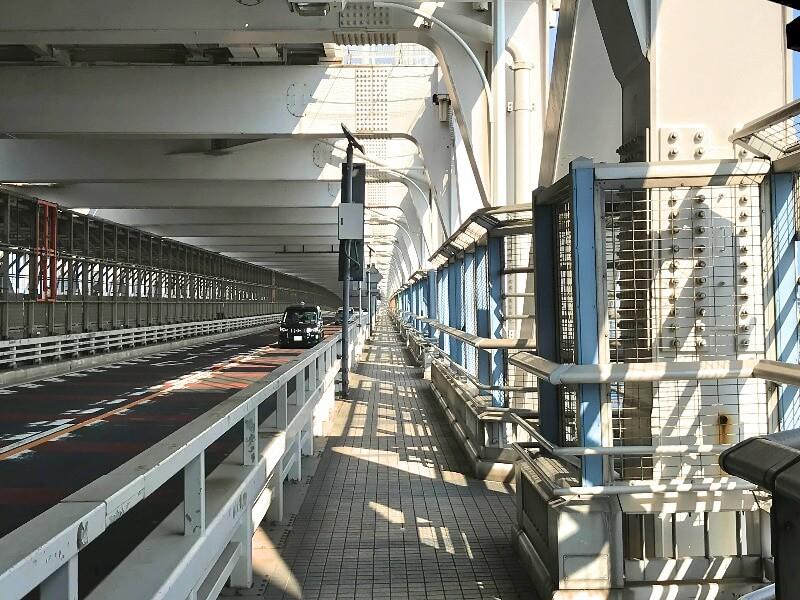 レインボーブリッジ_遊歩道