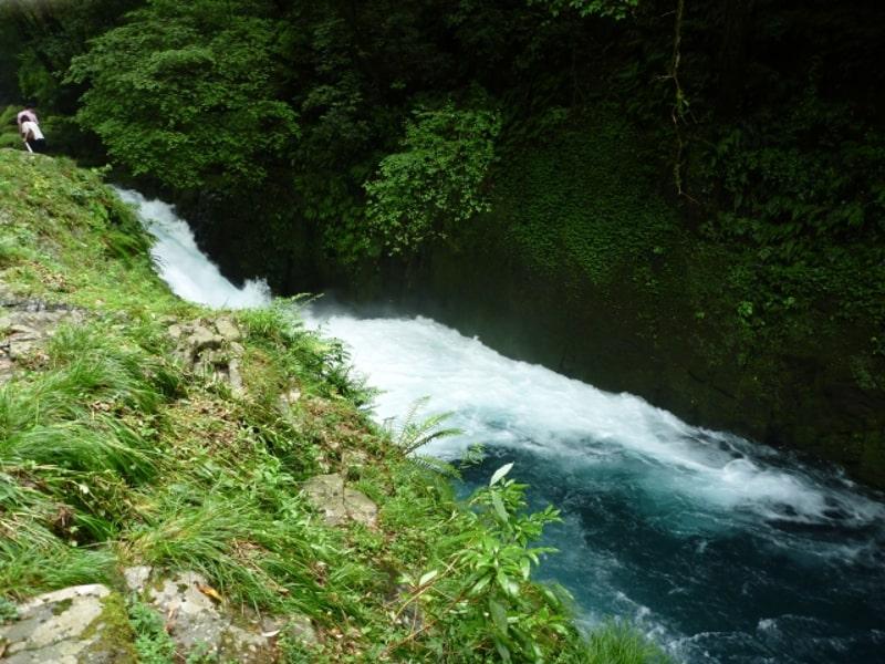 菊池渓谷渓流