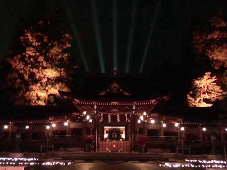 多賀大社 神あかり(滋賀) | 2019年神社ライトアップ情報