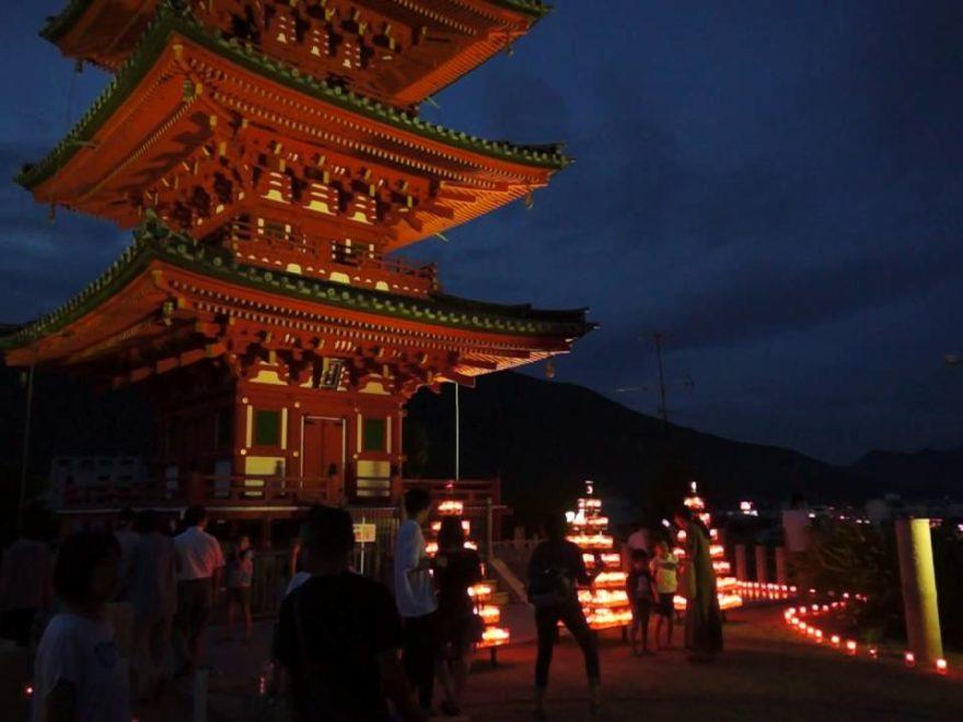 3万4000人のキャンドルナイト in 小豆島 2019ライトアップイベント情報(香川)