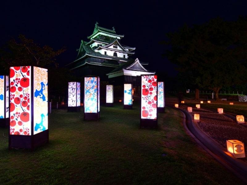 松江 水燈路|2019年ライトアップイベント情報(島根)
