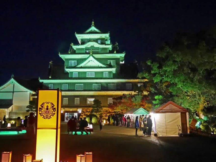 烏城公園(岡山城)(岡山) | 2019年紅葉ライトアップ・見頃情報