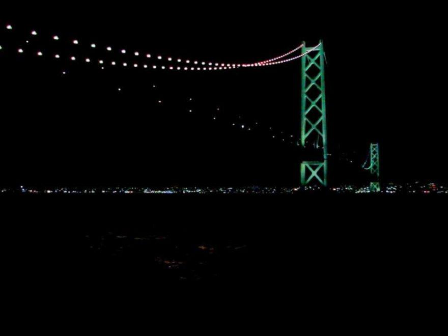 明石海峡大橋2019-20年(兵庫) | 年越しカウントダウン情報
