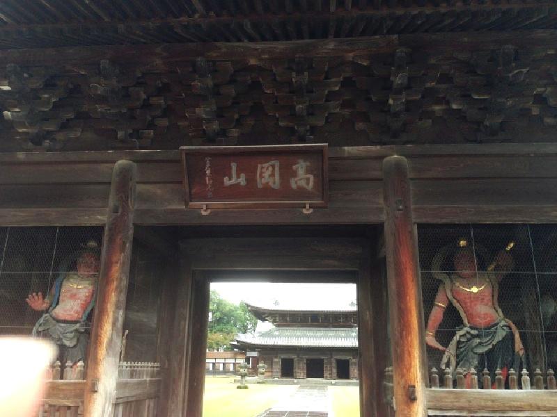 瑞龍寺-金剛力士像