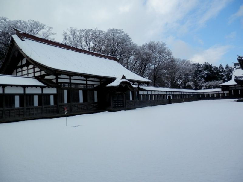 瑞龍寺-冬