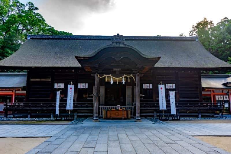 大山祇神社-拝殿