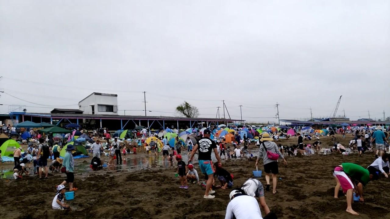 的形潮干狩場(兵庫県姫路市)   2021年潮干狩り情報
