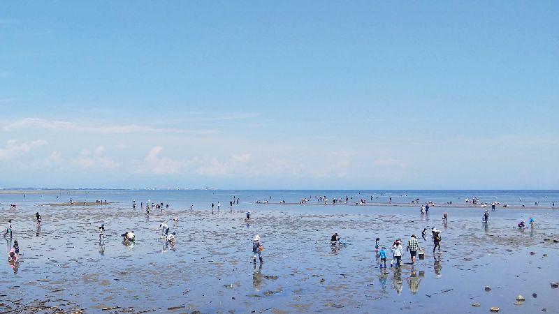 潮干狩りシーズンイメージ