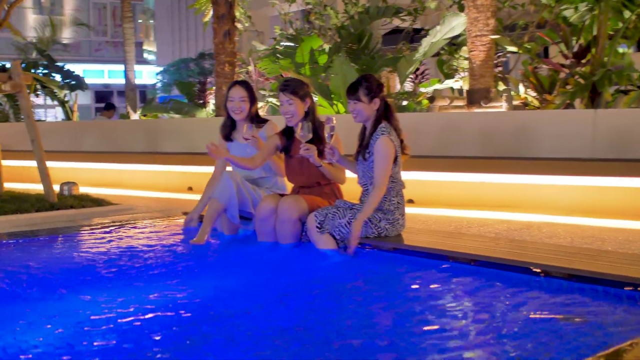 ホテルパームロイヤルNAHA 国際通り(沖縄県那覇市) | 2021年ナイトプール情報